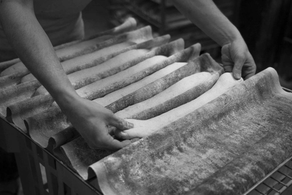 préparation pain maison